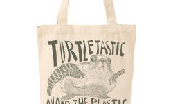 plastic-free swaps - turtle shopping bag