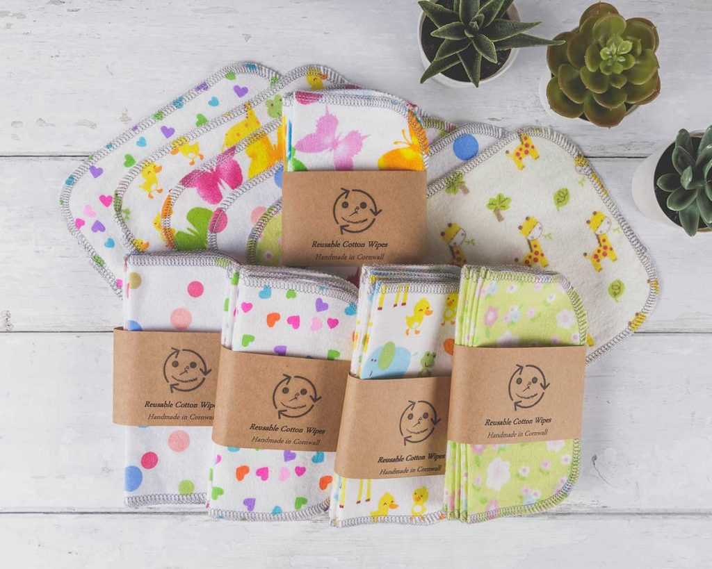 Reusable cotton wipes - Handmade Tales